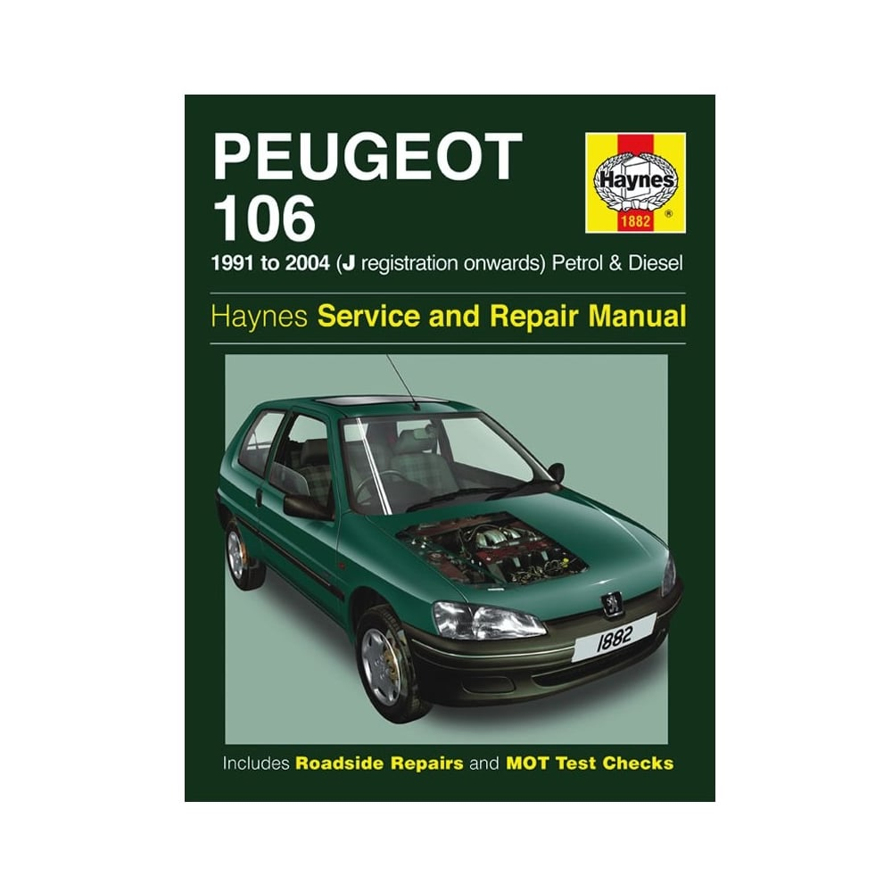 Free Workshop Manual For Peugeot 106 Gris